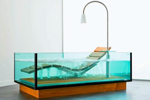Cool, Clear Bathtubs