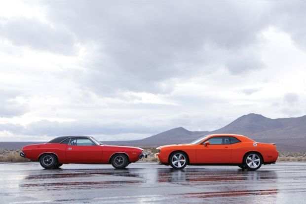 classic cars Vs their modern version dodge
