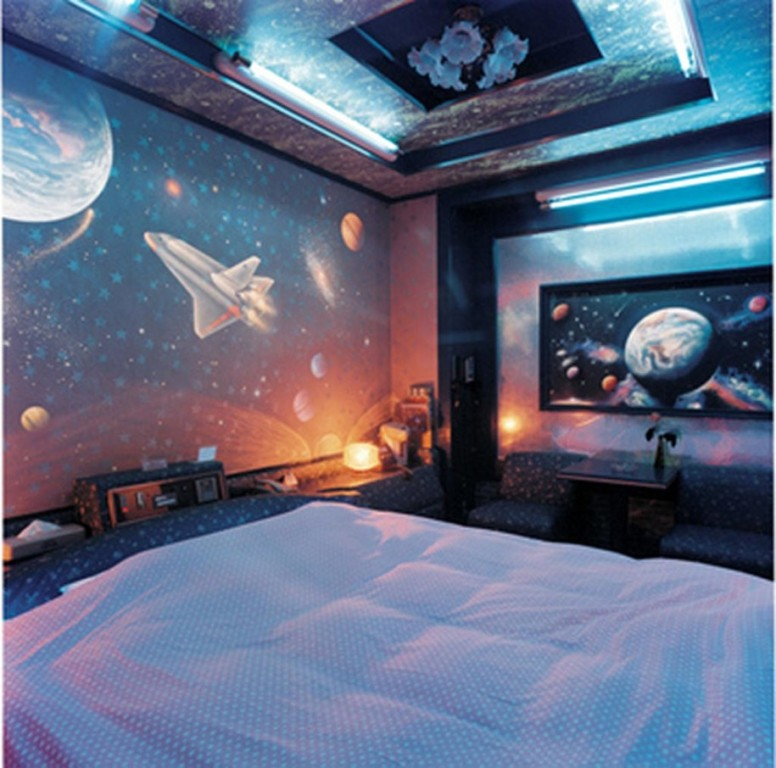 Modern And Futuristic Kids Bedroom