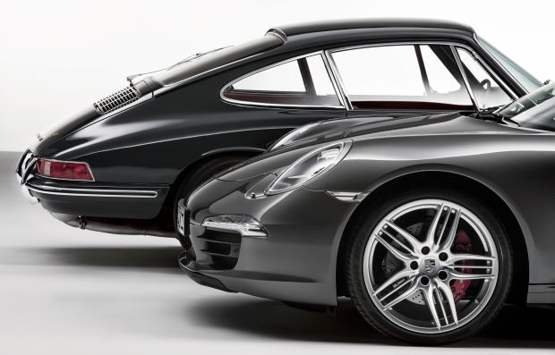 Old Vs New Porsche