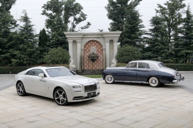 The magnificent old and new version of Rolls Royce.