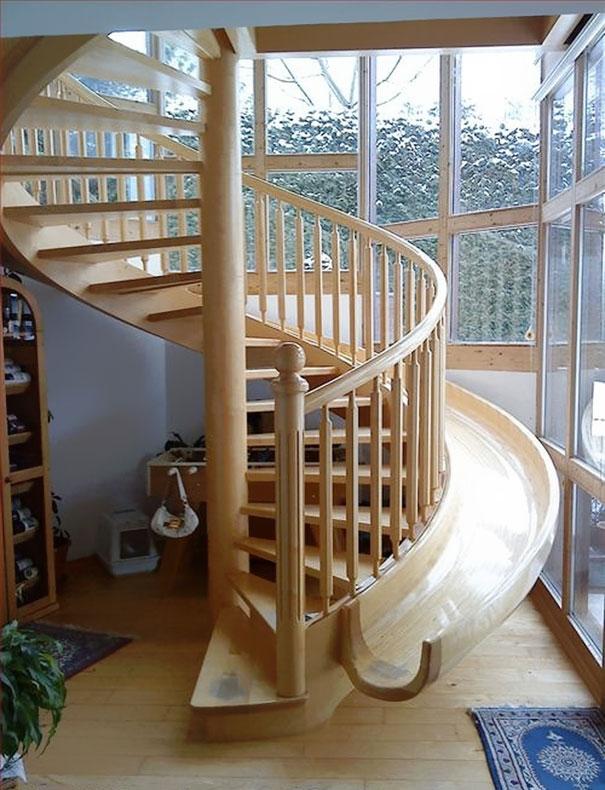Spiral Staircase Slide