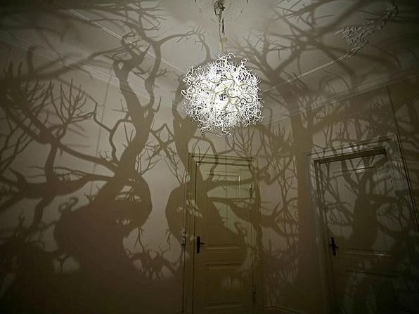 The Chandelier That Can Turn Your Home Into A Forest