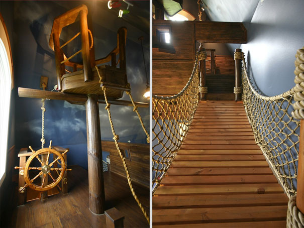 The Pirate Ship Bedroom 1