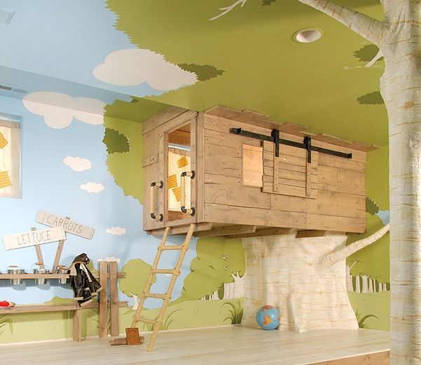 The Tree House Bedroom for Kids