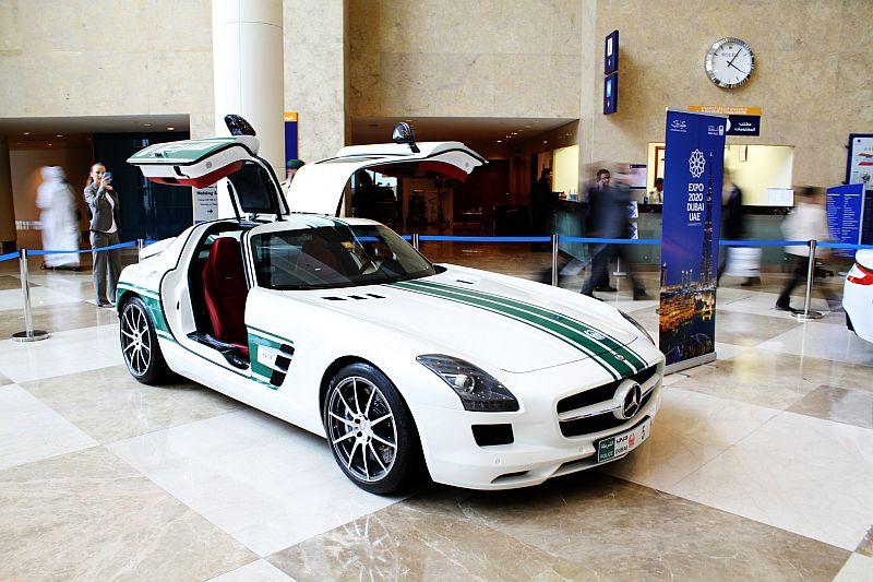 Nice Dubai Police Cars