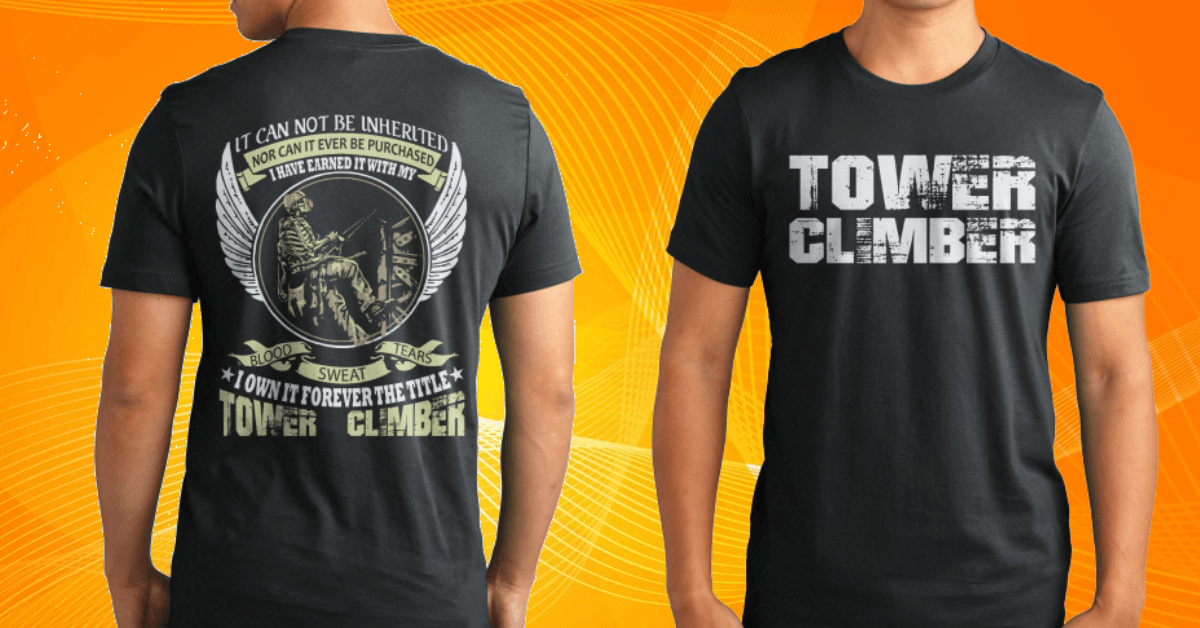 towerclimber t-shirt