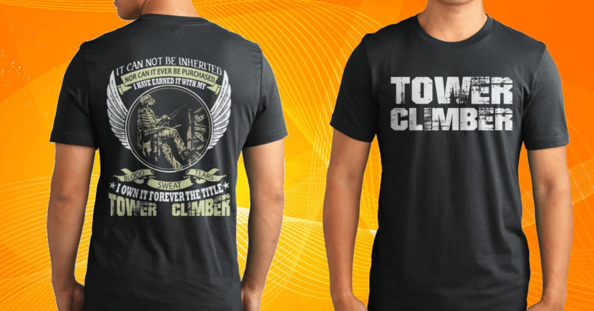 towerclimber t-shirt