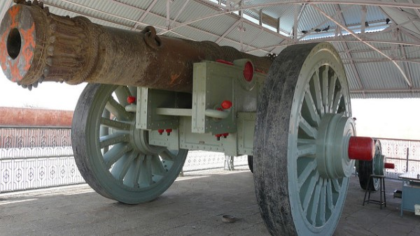 Biggest cannons