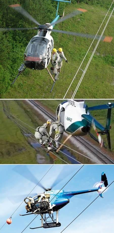 lineman helicopter
