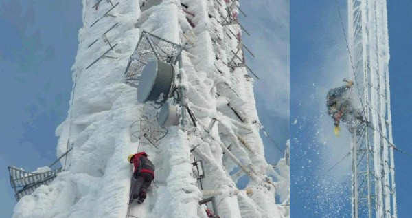 Terrifying Realities of Cell Tower Climbers