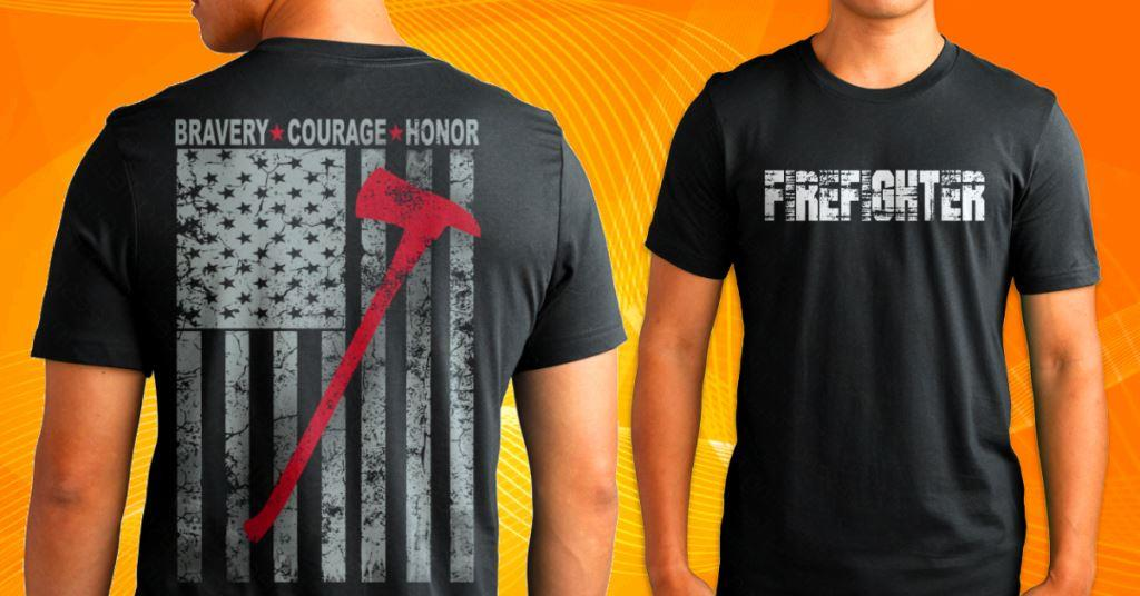Firefighter shirt