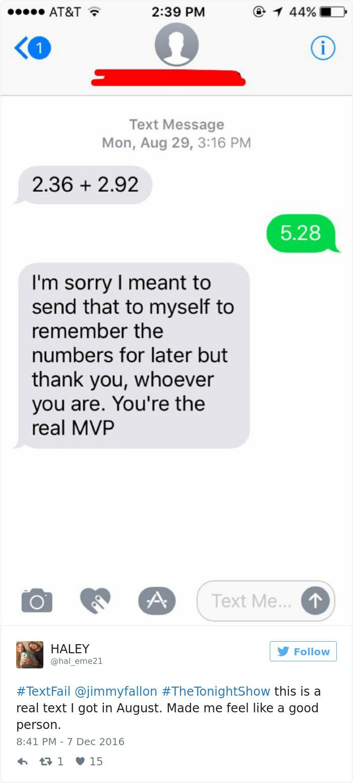 Embarrassing TextFails