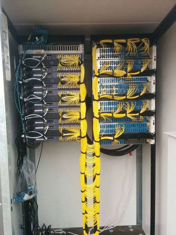 Proper Cable Management Photos